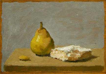 Robert Kulicke Pear, Almond & Iced Cake 1985