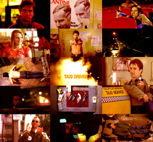 "100 Favorite Movies (in no particular order) | Taxi Driver (1976)   ""Someday a real rain will come and wash all this scum off the streets."""