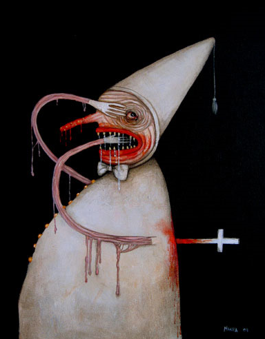 artparasite:  Killed By Faith, Mia Makila