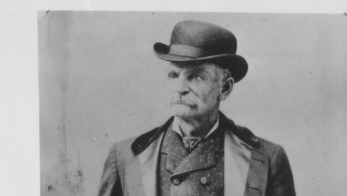 Black Bart, stagecoach robber-poet who plied his trade in the 1870s and 1880s in Oregon and Northern California. After his fourth robbery, he left this poem: I've labored long and hard for bread, For honor and for riches But on my corns too long you've tread, You fine-haired sons-of-bitches. Black Bart, the P o 8 Now we know: P o 8 = poet.