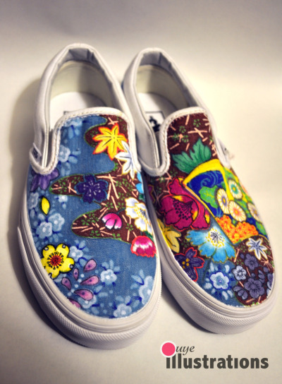 oway-we-go:  Flower feet
