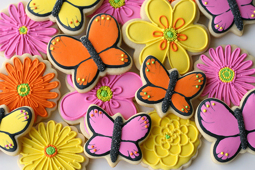 Bright Summer Butterflies (by Glorious Treats)