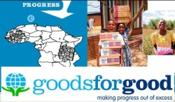 Goods for Good matches excess goods with the needs of orphans and vulnerable children. By providing goods such as school supplies, shoes, clothing and toys, Goods for Good ensures that a lack of basic materials is not a barrier to their education and achievement. #purpose