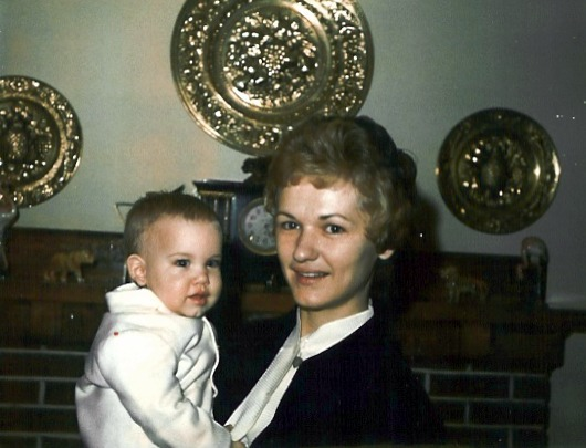My mother holding me when I was l about 18 months old. Her name was Donna. She died in 1999 at the age of 58. She was my best friend, and I miss her terribly. -submitted by Ty