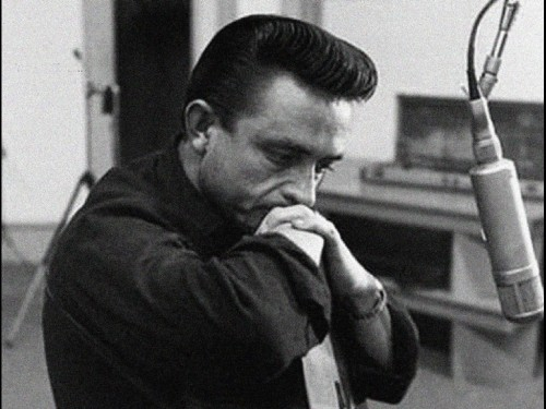 """In 1963, Johnny Cash, in defiance of his record company, added Mariachi horns to his recording of 'Ring of Fire', because he heard it that way in a dream.""  (via (1) How did Johnny Cash become hip? - Quora)"