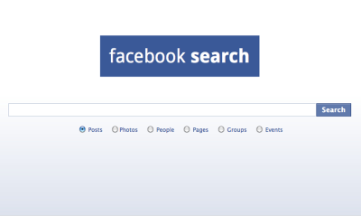 Nice! Facebook search! [link]