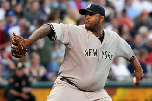 "Tough luck, CC. CC Sabathia is leading the majors in wins. He has a 12-4 record, 2.90 ERA, 117 K over 136.2 IP…. and he is not on the all star team. Those are some pretty gaudy numbers for someone who isn't ""all star"" caliber."