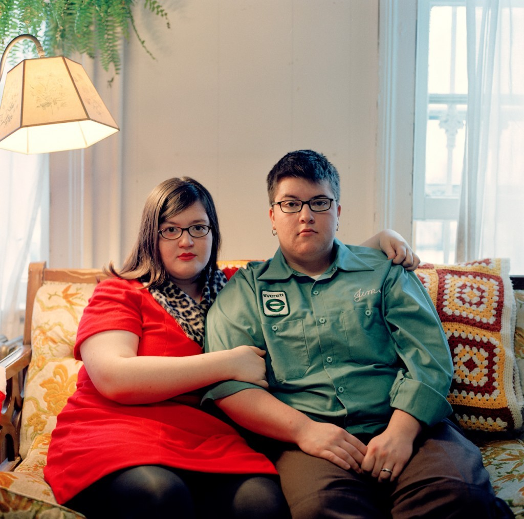 kickstarter:  Embodiment: A Portrait of Queer Life in America is a collection of short films and photographs which seek to explore the varied experiences of queer life in America. They've spent the last year on the road, collecting new images, video, and words, which they've compiled into an interactive gallery exhibit and (just announced!) website: This morning (yep, exactly one year from the day we met our Kickstarter goal) we launched the new, interactive, multimedia exhibition of Embodiment: A Portrait of Queer Life in America!   Definitely worth browsing their galleries. Tons of vivid portraits and incredibly moving stories — plus ample evidence of an extraordinary commitment from the creators. So spectacular!