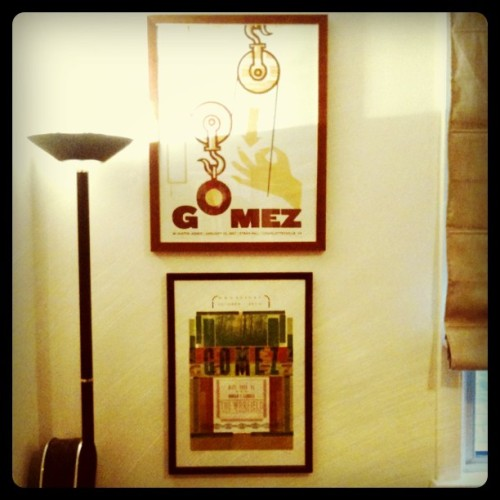 Gomez prints 2 & 3. #gomez (Taken with instagram)