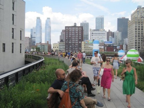 The High Line photo by Rails-to-Trails Conservancy