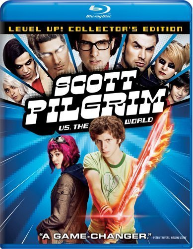 The Scott Pilgrim vs. the World 2-disk Blu-ray/DVD combo is just $11.99 on Amazon right now. That's 56% off the original price of $26.98, holmes! You should probably go get it since it's already a cult classic and one of the most under-rated (box office wise) flicks to come out in years. Plus, the special features are the shiznit and there's a buttload of 'em. Buy it now, fools!