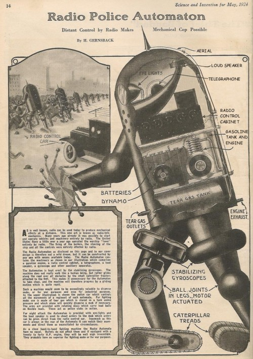Mechanical Cop (1924)