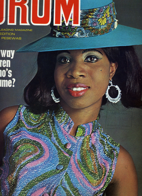 DRUM - Africa's leading magazine, Ghana Edition (1969) The leading Fashion and lifestyle magazine in the 60's. Proud of our beautiful ladies looking noble and comfortable in their skin.
