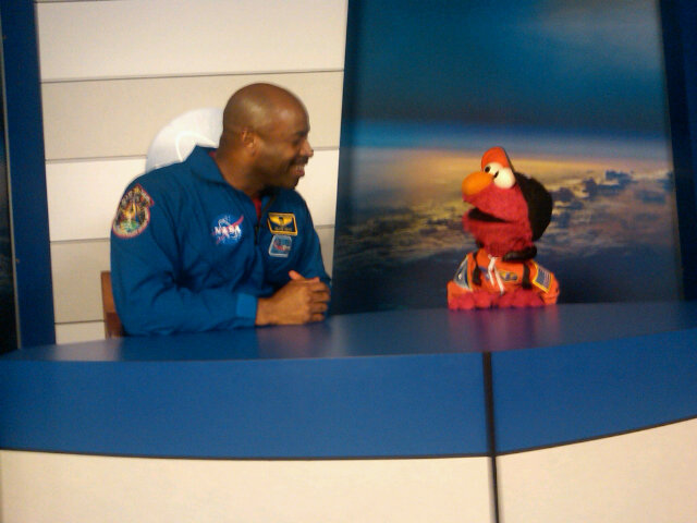 sesamestreet:  Elmo.  Astronauts.  It's out of this world!  Hang on. Are you telling me Matt Mira might also get to meet Elmo at the NASA tweetup? Holy mother of awesome.