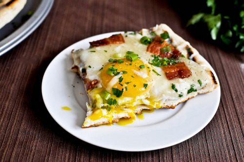 #116 Grilled breakfast pizza via Tasty Kitchen Blog
