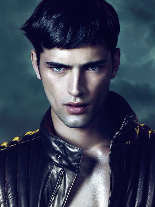 Sean o'pry for Versace fall campaign 2011/2012