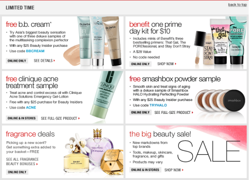 You guys, the Sephora Weekly Specials are so major right now! I haven't seen any this good in awhile, definitely check it out.