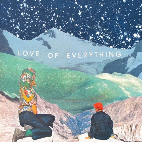 "Love of Everything-Sooner I Wish(Polyvinyl)2011 pre-order here: http://www.polyvinylrecords.com/store/index.php?id=1773 Clocking in at under nine minutes Bobby Burg's(Joan of Arc) solo project Love of Everything's Sooner I Wish features short infectious pop songs. The four tracks are somewhat charming basement indie rock with plenty of grungy fuzzed out guitar and repetitive lo-fi drumming. The first two tracks ""Three Way Answers"" and ""Sooner I Wish"" work the best on this ep with their catchy broken-hearted love song hooks and sweet innocent delivery. The instrumental ""Here Come the Warm Regrets"" is the longest track at just over 3 minutes and musically the most interesting however it suffers from the lack of vocals.  Burg is clearly hashing out some things in his music over his recent divorce but most of the ep comes off feeling a bit underdeveloped and forced. The ep is recorded live with only vocal overdubs giving everything a rugged raw tone which works best when paired with the melodic vocals. Overall Sooner I Wish is worthy of a listen and may really grab some people who are into the lo-fi sound. I love the imagery of the cover art and the 7"" comes in either white or black vinyl."