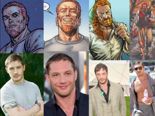 Neil Gaiman's The Sandman Fantasy Casting Destruction- Tom HardyI can't really say what exactly it is that makes him right in my mind for this role. He just is. With Destruction, you have to find an actor who is really muscular but not so much so that it seems incorrect for him to be this sensitive, very non-destructive guy and you also need an actor who can play that role which isn't everyone. I dunno for me, Tom Hardy just…works.