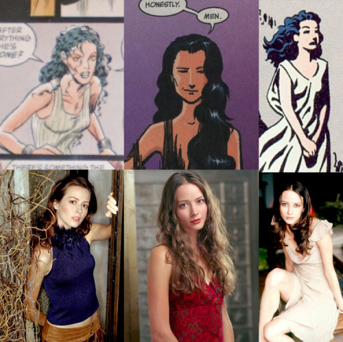 Neil Gaiman's The Sandman Fantasy Casting Eve- Amy AckerWell, for one thing, Eve is skinny as hell and Amy Acker is too. For another, Eve is a mix of many things. She at points seems shy and very quiet but is also tough and quite strong. Amy Acker is a great actress and can play all sorts of characters and she has played roles like Eve's before and done it extraordinarily.