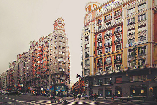 "A cloudy day in Madrid. (by Julia Davila ""Chaulafanita"")"
