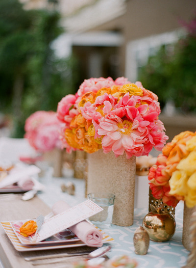 Dolce Designs Studio | Photo by Elizabeth Messina | via The Bride's Cafe