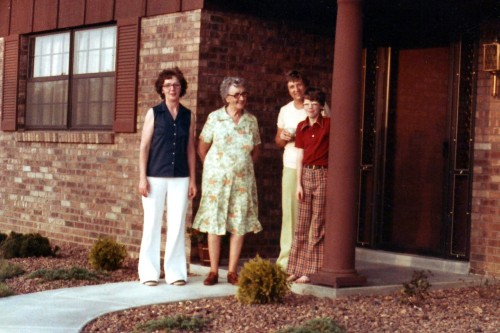 Dig the plaid pants. Yup, that's me in 1978.  Not responsible for any resultant blindness from viewing picture.