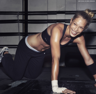 trainingfit:  Laugh, its good for your abs.