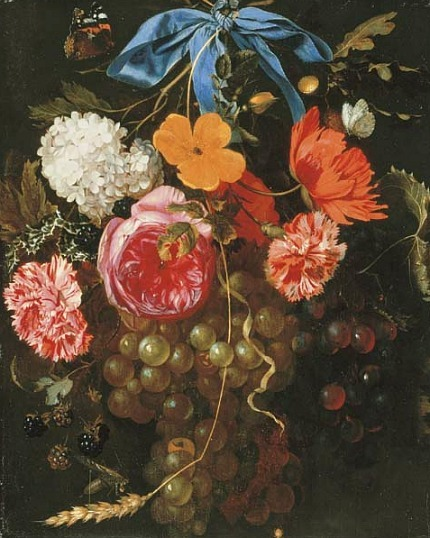 Maria van Oosterwyck Still Life with Flowers 17th century