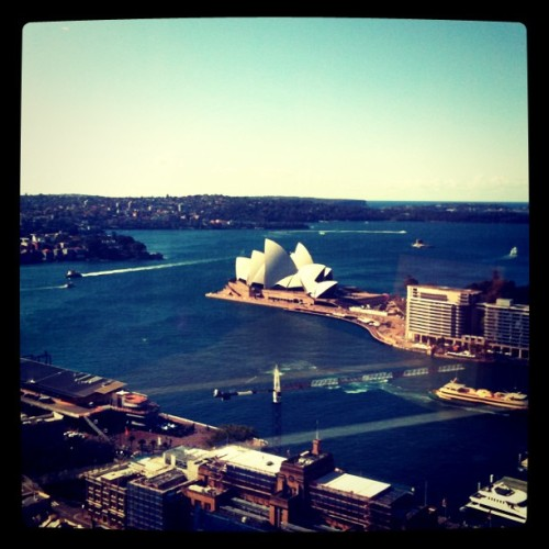 Shangri-la Sydney, Australia (Taken with instagram)