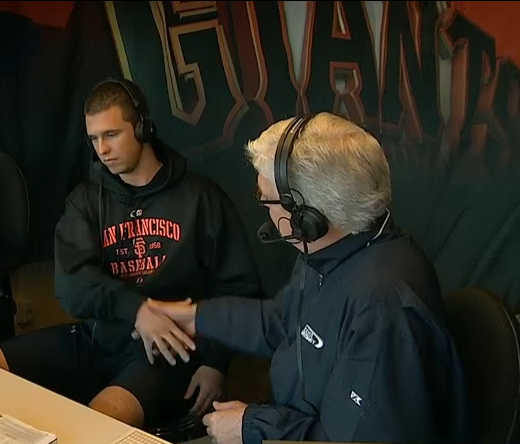 sfgiantsgirl19:  why can't he be in the booth every game?!?!?!