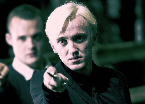 Because in many ways, to me, Draco is the hero of the whole saga. I think Harry has his destiny. There is only one choice Harry can make in every situation. Harry makes the right choice always, and he's admirable for doing so. But Draco has a bunch of choices, and Draco has to break the bonds of the shackles of his past. He has to break the chain of this kind of abuse and hatred and selfishness and entitlement that his father has been part of, and probably his grandfather and stretching back for generations.   -Jason Isaacs