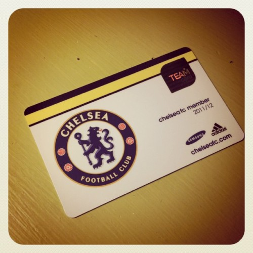 official #chelseafc now (Taken with instagram)