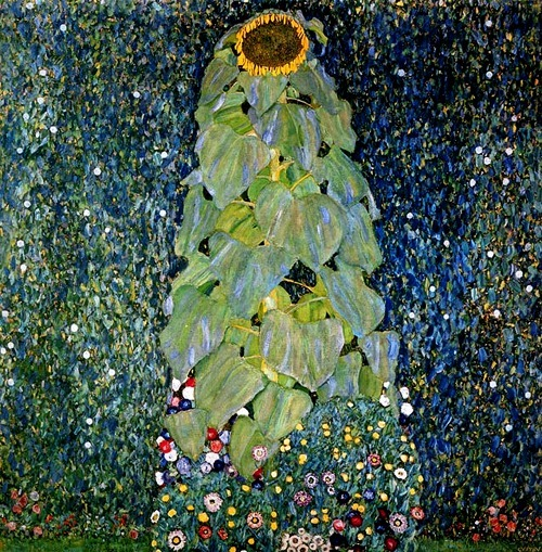 The Sunflower, Gustav Klimt, 1907