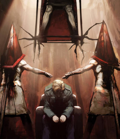 This is probably my favorite Silent Hill fanart ever. I wish I could remember who made it.