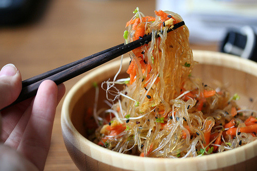 raw kelp noodles are one my favorites. excited to try this recipe.