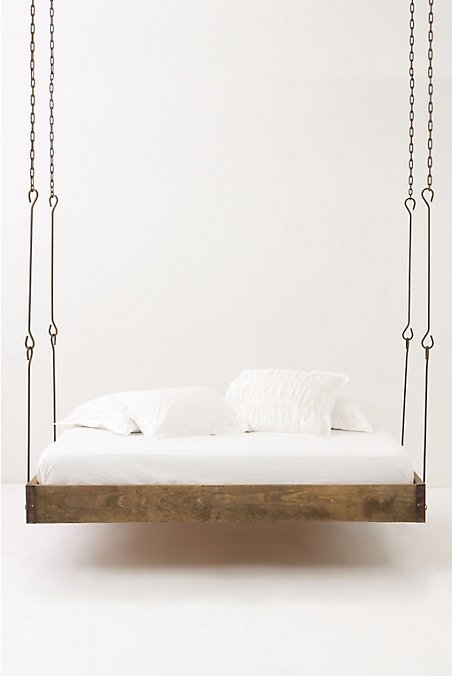 Lovley suspended bed.