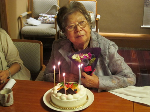 Here is my Obaachan on her 93rd birthday =) She is one of my biggest inspirations.. an incredible woman and artist. She is humble, humorous, and so smart.