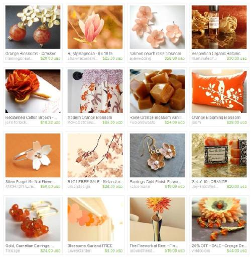 theeclecticslide:  A #treasury of Orange Blossom Honey inspired choices picked by me. @Etsy http://www.etsy.com/treasury/NTAwMTk3NXw0MTk4NjAxODU?ref=af_you_tre #handmade