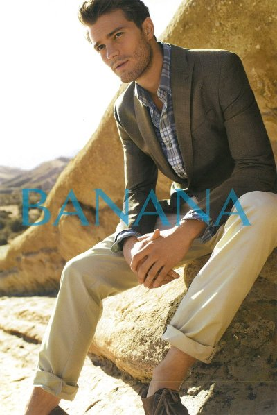 Jamie Dornan for Banana Republic s/s 11