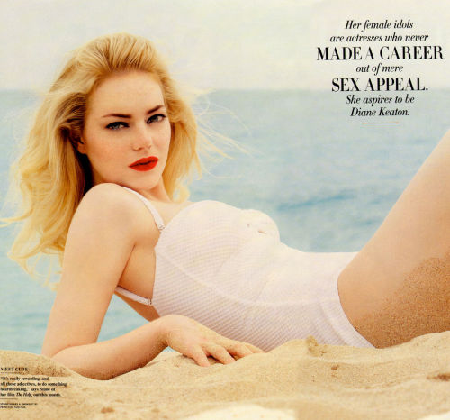Emma Stone for Vanity Fair August 2011