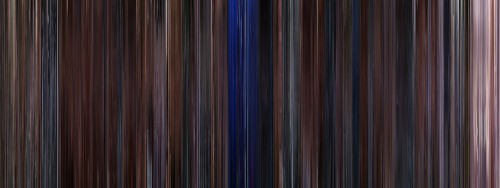 moviebarcode:  Vanilla Sky (2001)  I feel like it would be the coolest thing ever to hide something within one of these. Like if the poster for a movie was actually the entire movie.