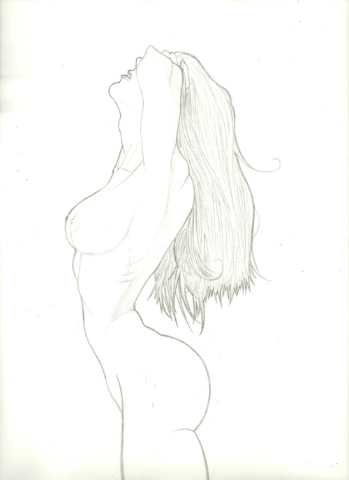 Female body study.