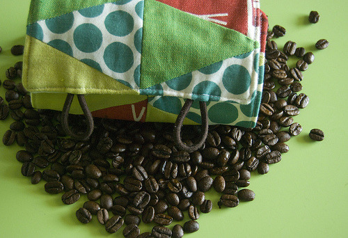 French Press Cozie (by stitchindye)
