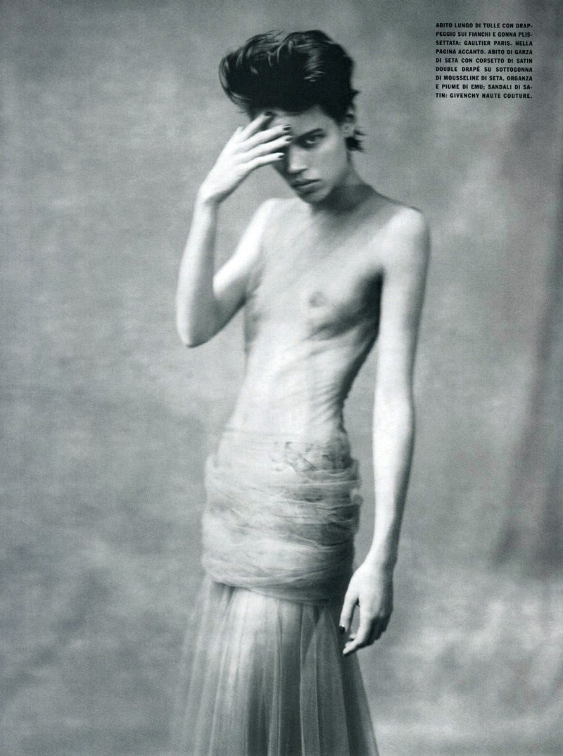 Freja Beha Erichsen photographed by Paolo Roversi - Vogue Italia: March 2008 - Individuallure