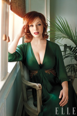 Christina Hendricks would get slammed anywhere I deem fit to slam.