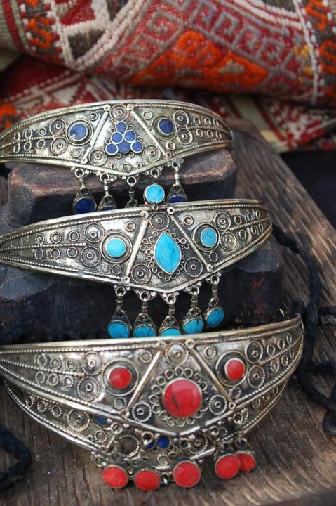 Afghan traditional head jewellery