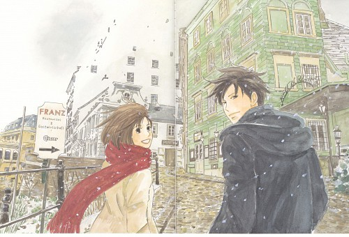 "purigorotanomahou:  Page 2 and 3 from ""Nodame Cantabile Illustrations"" book by Ninomiya Tomoko"