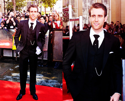 vasymollo:  Matthew Lewis at the world premiere of Harry Potter and the Deathly Hallows Part 2