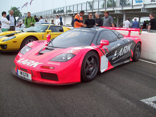 Hidden bimmer Starring: Mclaren F1 GTR (by »KK«)